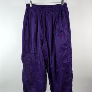 94695c5183205 Vintage 80s Nike Purple Wind Pants Lined Medium